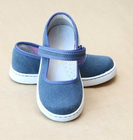 L'amour Girl's Canvas Mary Jane Play Shoes