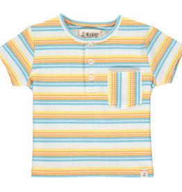 Boy's Short Sleeve Henley T-Shirt