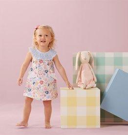 Little Girl's Smocked Bunny Dress