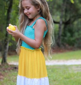 LeLe Girl's Summer Maxi Dress