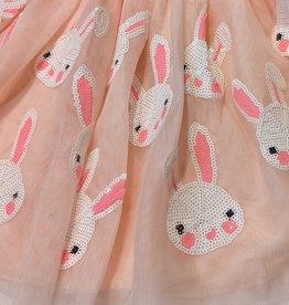 Bunny Sequin Tulle Tutu Skirt