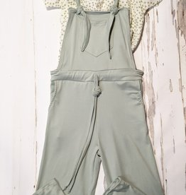 Area Code 407 Tween Knit Drawstring Overalls
