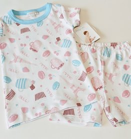 Magnolia Baby Girls Short Pima Cotton Pj's