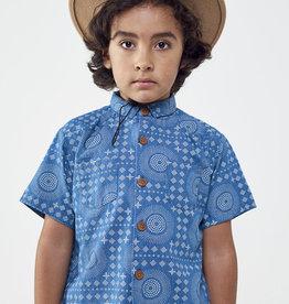 Wander & Wonder Boy's Western Woven S/S Shirt