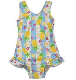 Flap Happy Girl's One Piece Swimsuit