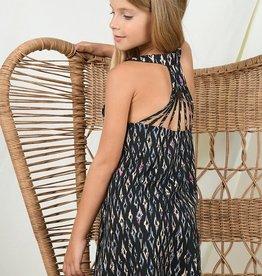 Mini Molly Tween Batik Woven Dress