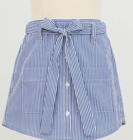 Mini Molly Tween Striped Skort