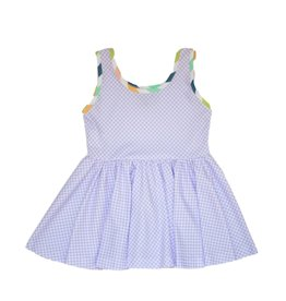 Be Girl Girl / Toddler Peplum Sleeveless Top