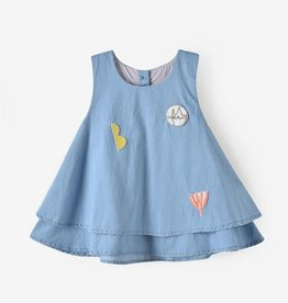Aimama Gloria Denim Sleeveless  Top