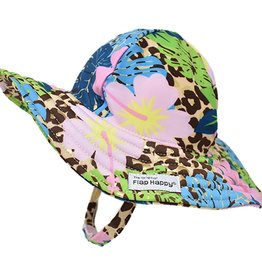 Flap Happy Girl's Splish Splash Swim Hat