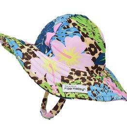 Flap Happy Girl's Splish Splash Swim Hat