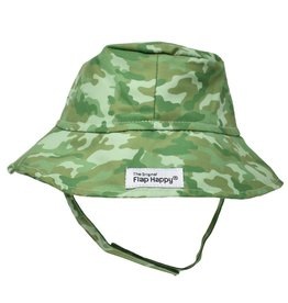 Flap Happy Boy's UPF 50 Microfiber Bucket Hat