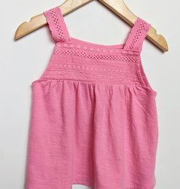 Losan Girl's Embroidered Sleeveless Top