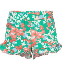 Joules Floral Ruffled Shorts
