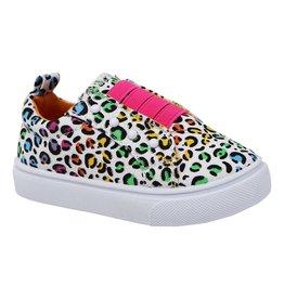 Paris Blues Little Girls Slip-on Sneakers
