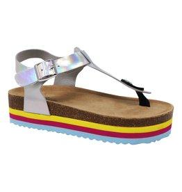 Paris Blues Girl's Platform Sandals