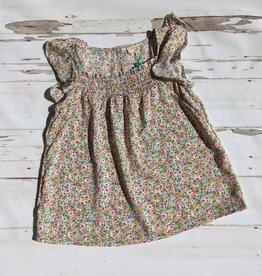 Hayden Girls Tween Ruffled Cap Sleeve Floral Top