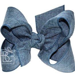 """2.25 x 5.5"""" Linen Bow"""