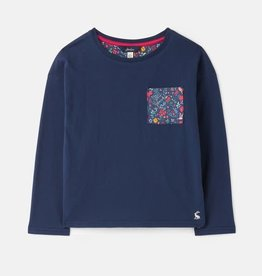 Joules Girl L/S Ditsy Top