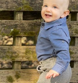 Me & Henry Baby / Toddler Boy L/S Jersey Knit Shirt