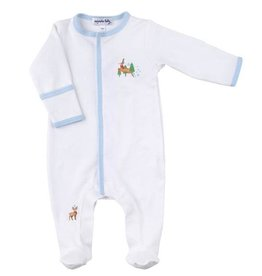 Magnolia Baby Holiday Buck Footed PJ's