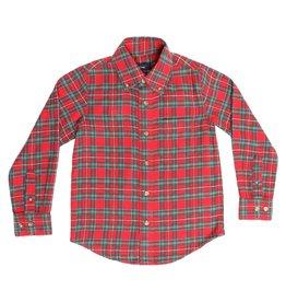 Pedal Boy L/S Plaid Button Down Shirt