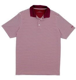 Properly Tied Boy Knit Striped, Game Day Polo