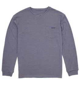Long Sleeve Striped Pocket T-shirt