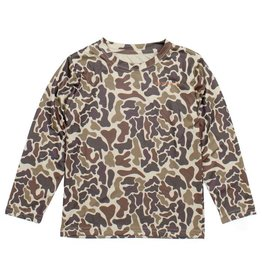 Properly Tied L/S Vintage Camo Performance Top