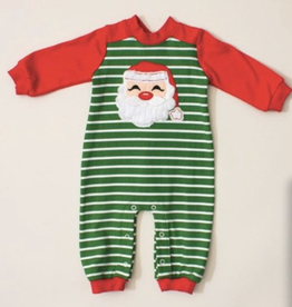 Wally and Willie Boy's Christmas Romper