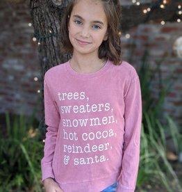 Sweet Soul Clothing Co. Junior Christmas L/S T-shirt