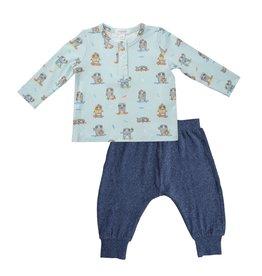 Angel Dear Baby / Toddler Henley 2 pc Jogger Set