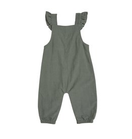 Angel Dear Baby / Toddler Girl Corduroy Ruffled Overalls