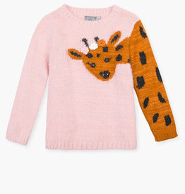 Losan Fuzzy Giraffe Sweater