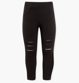 Losan Leggings with Rips and Sequins