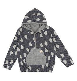 Turtle Dove London Knit Reversible Hoodie Jacket