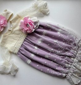 Haute Baby Lavender baby gown