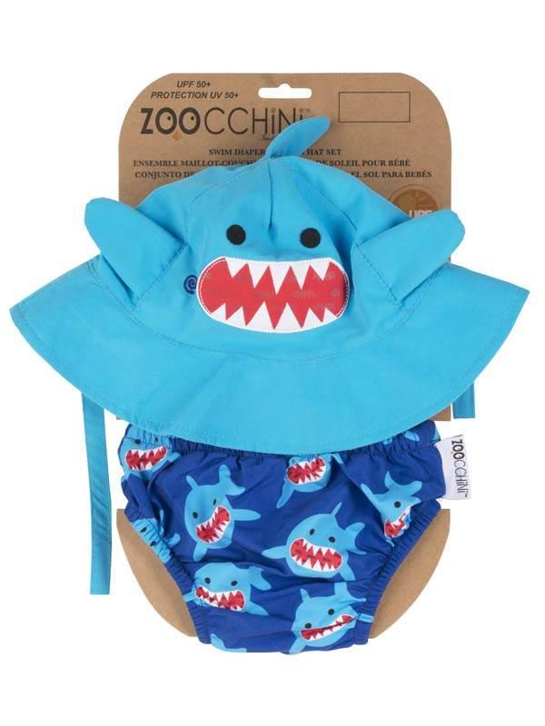 Zoocchini Baby Swim Diaper and Sun Hat