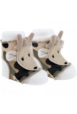 Trimfoot Co Baby Deer Peep Toe Sock