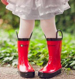 Oakiwear Children's solid Rubber Rain Boots
