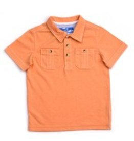 Kapital K orange cream signature polo
