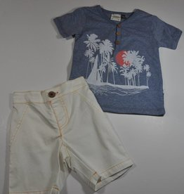 Fore Fore Baby Boy Shirt/Short Set