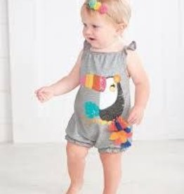 Mud Pie Girls Bubble Sunsuit