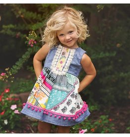 Haute Baby Haute Baby Chelsea Dress, Multi Color