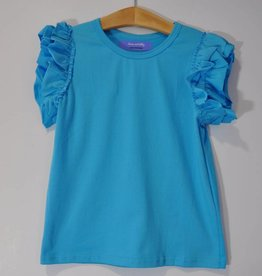 Lanie & Libby Girl's Solid S/S Tops