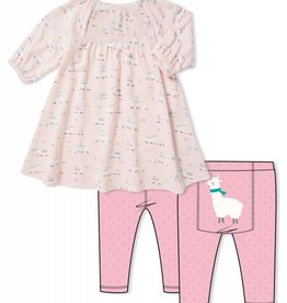 Angel Dear Angel Dear Girl's 2 pc  LS Outfit