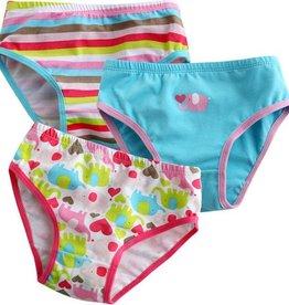 Vaenait Baby Vaenait Girl's Panty, 3Pk