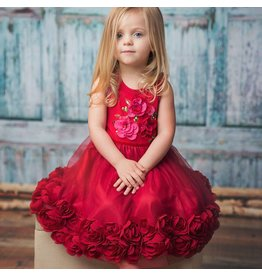 Haute Baby Haute Baby, Ruby Sparkle Toddler, Little & Big Girls Dress