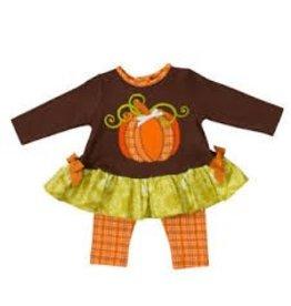Tunic 2 pc w/Leggings: Pumpkin Applique