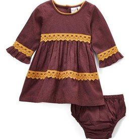 Yo Baby yo baby dress with diaper cover